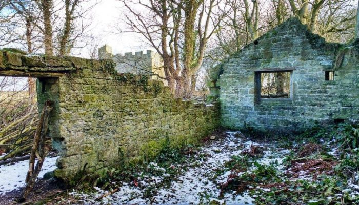 Gardeners bothy at Cresswell Pele Tower