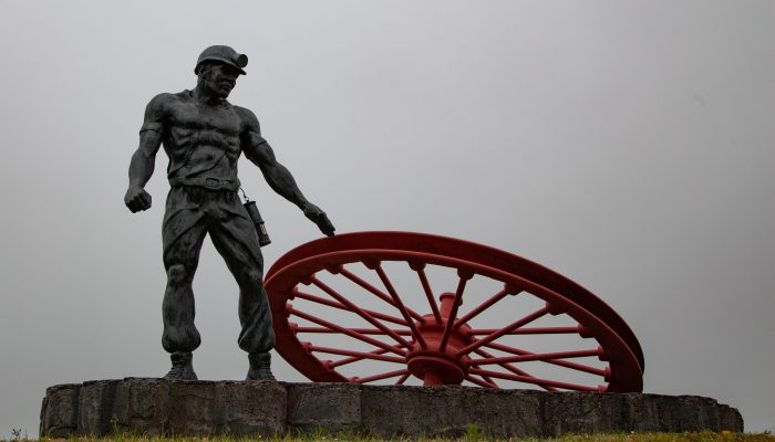 Ellington Miner Sculpture